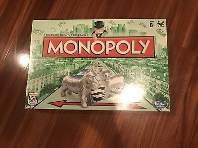Monopoly The Classic Edition Traditional Family Fun Board Game New Token Lineup!