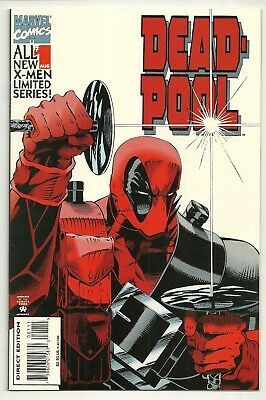 """DEADPOOL  1994  Marvel comic book  #1   from  """"X-MEN LIMITED SERIES"""""""
