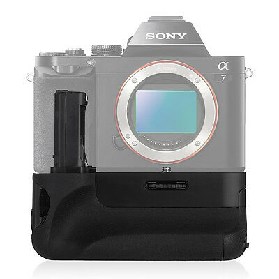 Vertical VG-C1EM Battery Grip for Sony Alpha A7 A7R A7S Work For NP-FW50 Battery