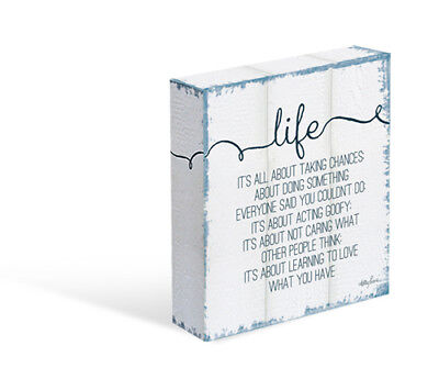 Kelly Lane LIFE Canvas Free Stand or Hang Brand New