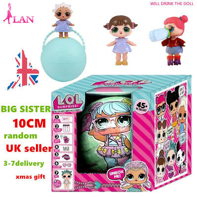 Hot!!!2017 Xmas Gift LoL L.O.L Surprise Dolls Series1 10CM Big Sisters 7Layers