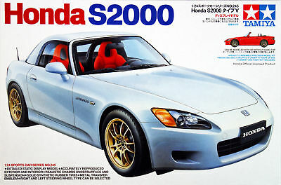 Tamiya 24245 1/24 Sports Car Honda S2000 New Version Model Kit