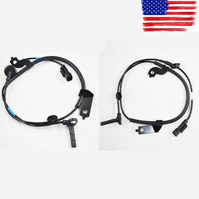 Set 2 ABS Wheel Speed Sensor Front Left Right For Mitsubishi Lancer Outlander US