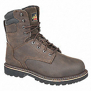 THOROGOOD SHOES Work Boots,10-1/2,W,Brown,Steel,PR, 804-4279105W, Brown