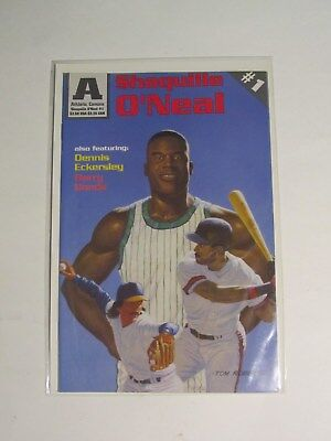 Shaquille O'Neal, Barry Bonds, Dennis Eckersley Athletic Comics #1,April 1993