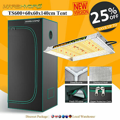 Mars 300W Led Grow Light Veg Flower Plant + 70×70×160cm Indoor Grow Tent Kit
