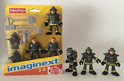 Fisher Price Imaginext Firefighters Figures