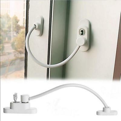 Restrictor Child Safety Stainless Key A Lockable Window Security Cable Lock Door