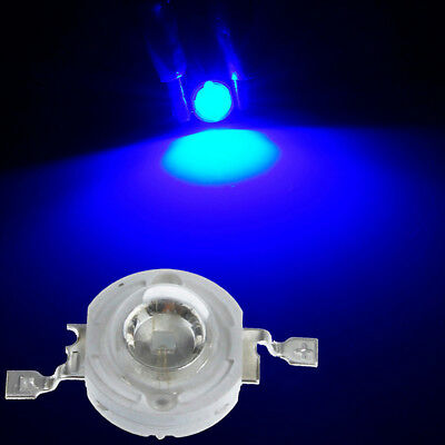 10/50PC 1W 3W SMD COB LED Chip With Star PCB High Power Beads White Blue Light