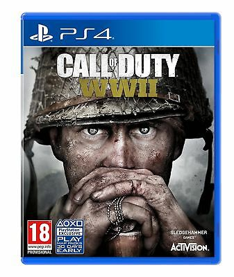 Call of Duty: WWII (PS4) New & Sealed UK PAL Fast Free UK P&P