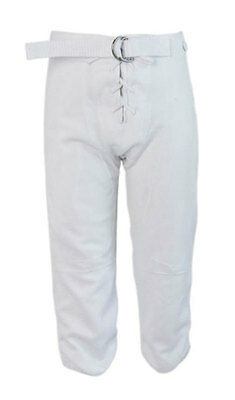 Alleson American Football Pants Trousers (White) - Youth XS (5-6 Years)