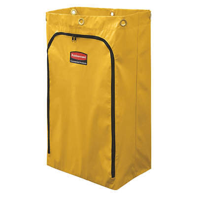 RUBBERMAID Replacement Bag,Yellow,Vinyl, 1966719, Yellow