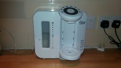 Tommee Tippee Perfect Prep Machine refurbished +New filter white