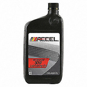 ACCEL Motor Oil,Non-Detergent,1 qt.,SAE 30, AC0130PL, Amber