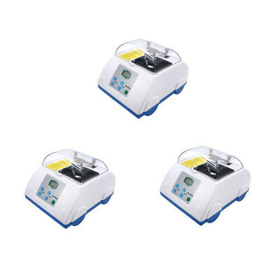 3 UNITS Dental Lab Digital Amalgamator Amalgam Capsule Mixer Lab Equipment 110V