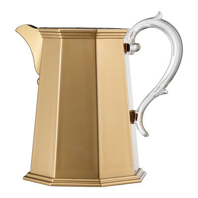 NEW Mario Luca Giusti Ottaviana Gold Pitcher