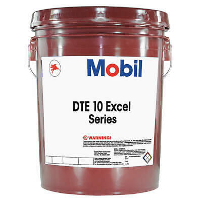 Mobil DTE 10 Excel 15, Hydraulic, 5 gal, 106125, Amber
