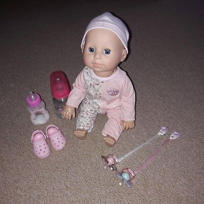 """Zapf creation Baby Puppe """"ANNABELL"""" -  LEARNS TO WALK"""