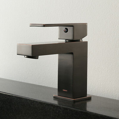 Keewi Single Handle Bathroom Faucet Basin Mixer Tap Brass, Oil Rubbed Bronze