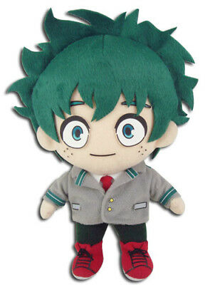 **Legit** My Hero Academia Anime Plush Deku Izuku Midoriya School Uniform #52278