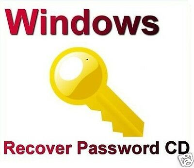 Password Recovery for Windows XP or Vista, Windows 7, 8