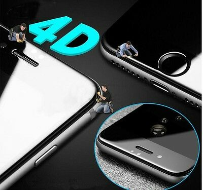 3D 4D 5D Full Cover Curved Screen Protector Tempered Glass iPhone 8, iphone X