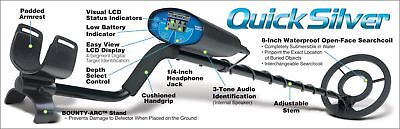 Bounty Hunter Quick Silver Metal Detector with Pin Pointer Fully Automatic Digit