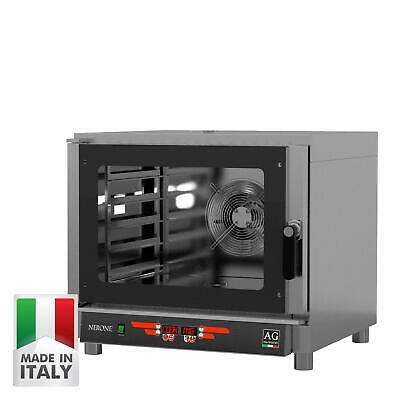 Italian Made Commercial Combi Oven / Steam Oven - Takes 5 Bakery / GN Trays