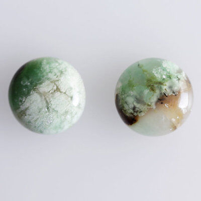 25MM Round Shape, Chrysoprase Calibrated Cabochons AG-239