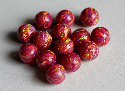 12MM Sparkling Fire Opal Round Beads AG-260