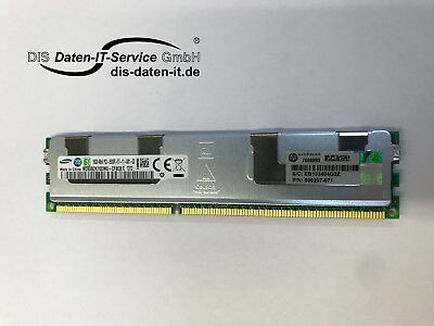 HP DDR3-RAM 16GB PC3-8500 ECC Registered 500207-071