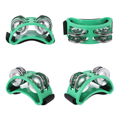 Metal 7 Color Durable Craft Professional Tambourine Christmas