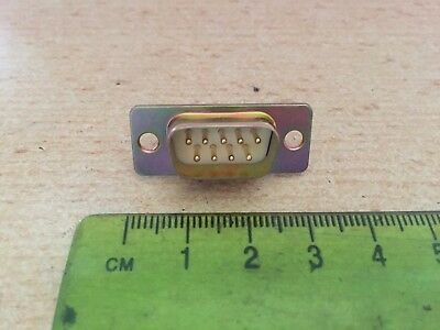 D Sub-miniature Socket  connector   Straight  9 way            Z1698