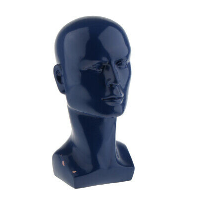 Plastic Male Mannequin Head Wig Hat Scarf Jewelry Sunglasses Display Holder