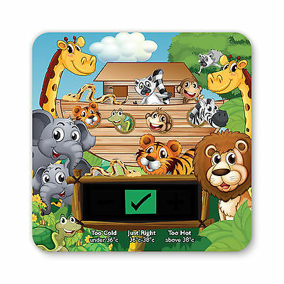 Baby Bath Thermometer - Jungle Design