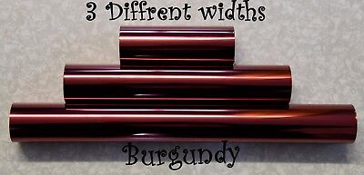 Burgundy Toner Foil Craft Cards Laser Printer Heat Transfer Laminator Hot Foil
