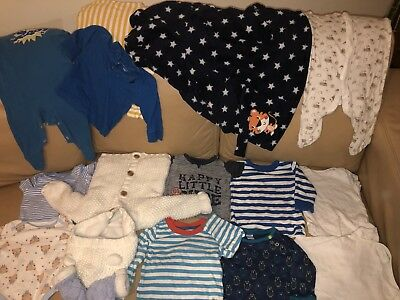 Baby Boy Clothes 6-9 Month Bundle Include Next, Mini Club And Act ...,