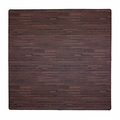 Tadpoles Wood Grain Playmat Set, Cherry CPMSEV835