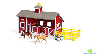 Breyer Stablemates Doll Toy Horse Stable Stablemate Play Set For Dollhouse Toys