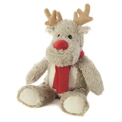 Warmies Cozy Plush Xmas MINI Reindeer Lavender Scented Microwavable Toy