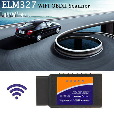 OBDII OBD2 ELM327 WiFi Car Diagnostic Scanner Code Reader Tool for iOS&Android