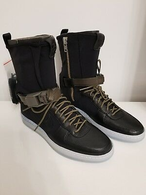 NIKE AF1 Downtown Hi SP Acronym Black/Black Olive UK 7 US 8 BNIB RARE -  £200.00 | PicClick UK