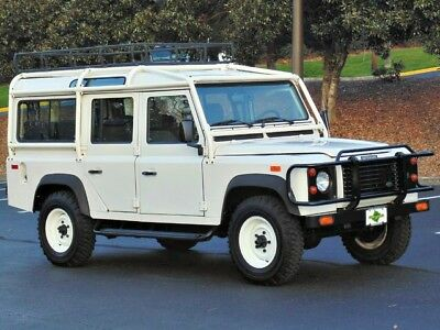 1993 Land Rover Defender Base Sport Utility 4-Door AdventureMotorCars presents NAS 1993 Land Rover Defender 110