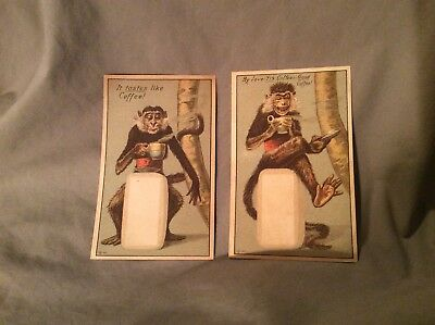 2 Antique Victorian Trading Cards