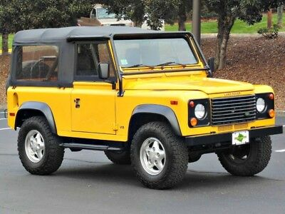 1997 Land Rover Defender Base Sport Utility 2-Door AdventureMotorCars presents 1997 Land Rover Defender 90- Only 35k Miles!