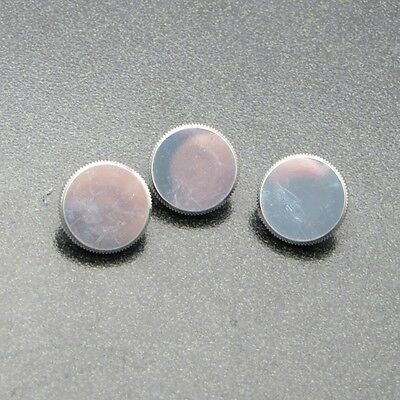 Genuine Curry Lightweight Finger Buttons (3), Made for Bach Stradivarius NEW!