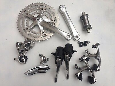 Campagnolo Veloce / Athena triple Groupset Gruppe VGC!