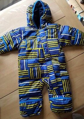 Columbia Baby Snowsuit/ Snuggle Bunny Bunting - Size 3 - 6 mths