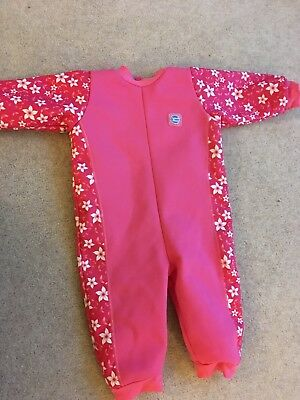 Girl's Splash About warm-in-one Wetsuit 18-24 Months