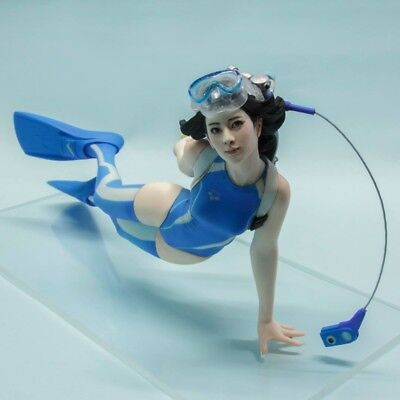 Resin Figure Kit  1/10 Diver Girl GK Model Kit